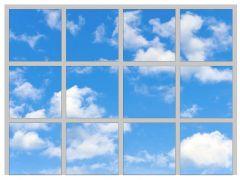 Set of 12 Sky / Cloud Scene 1 LED Panels 600mm x 600mm