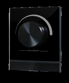 Sunricher RF Single Colour Touch Slider RF Wall Panel Black (230V)