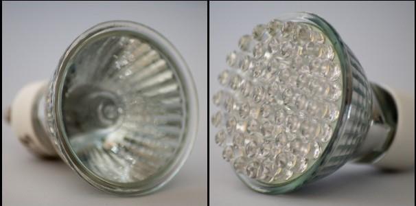 LED lights vs halogen lights