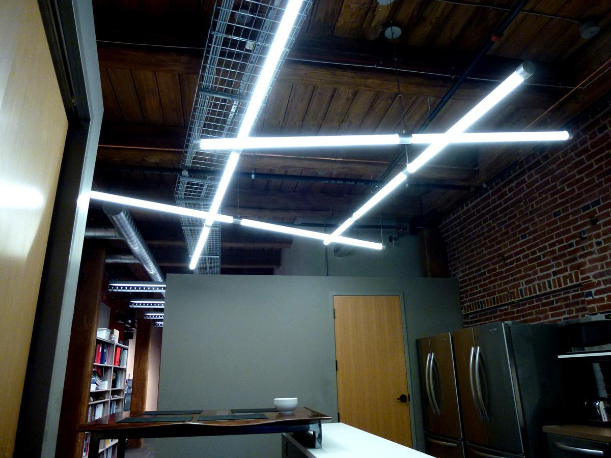 Darth Vadar LED lighting