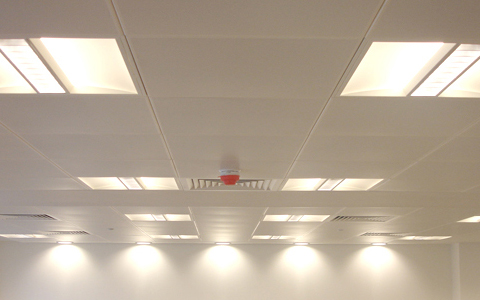 Cleaning LED panels